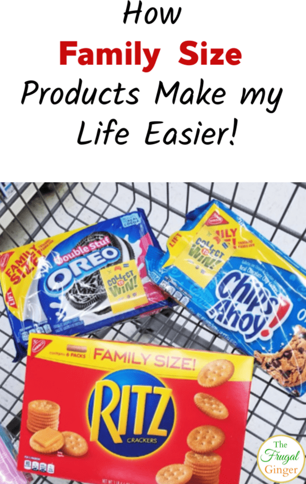 Stock up with family sized products at Walmart to save you both time and money. You can also win some great prizes, too! #ad #IC #CollectToWin