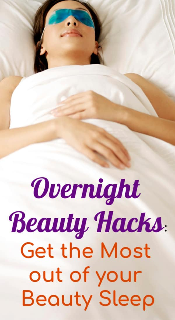 Use these overnight beauty hacks every girl should know to wake up looking gorgeous! Simple tips for skin care and hair to do before bed and while you sleep. Awesome lazy ideas to do tonight!