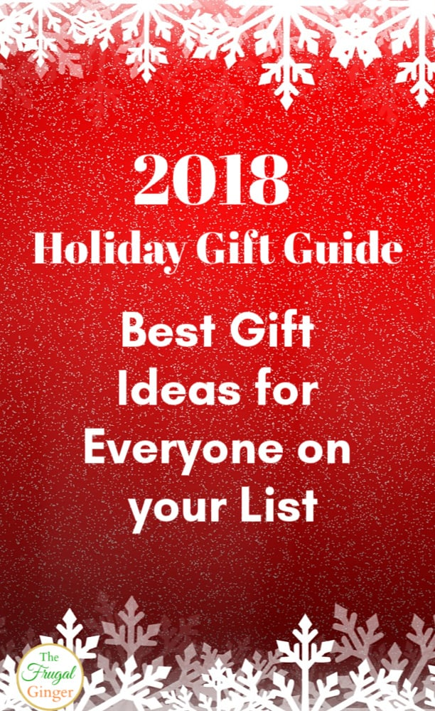 The 2018 Holiday Gift Guide is here! Find the best Christmas gift ideas for kids, for her, and for the home. Full of awesome products to buy your friends and family this year!