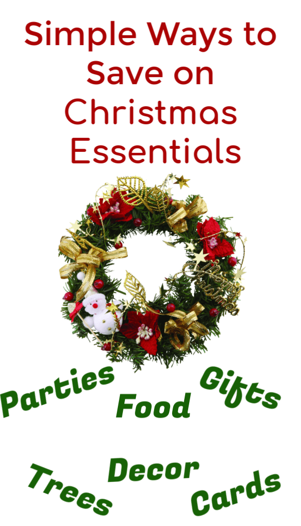 Use these tips to save on Christmas essentials like food, decor, gift ideas, cards, outfits and even Christmas trees. Simple tips to have Christmas on a budget while still shopping for what you need.