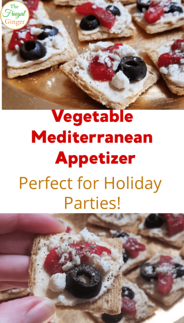 This mediterranean vegetable appetizer recipe is perfect for entertaining at a holiday party or family gatherings. Perfect finger foods to make ahead and vegetarian friendly!