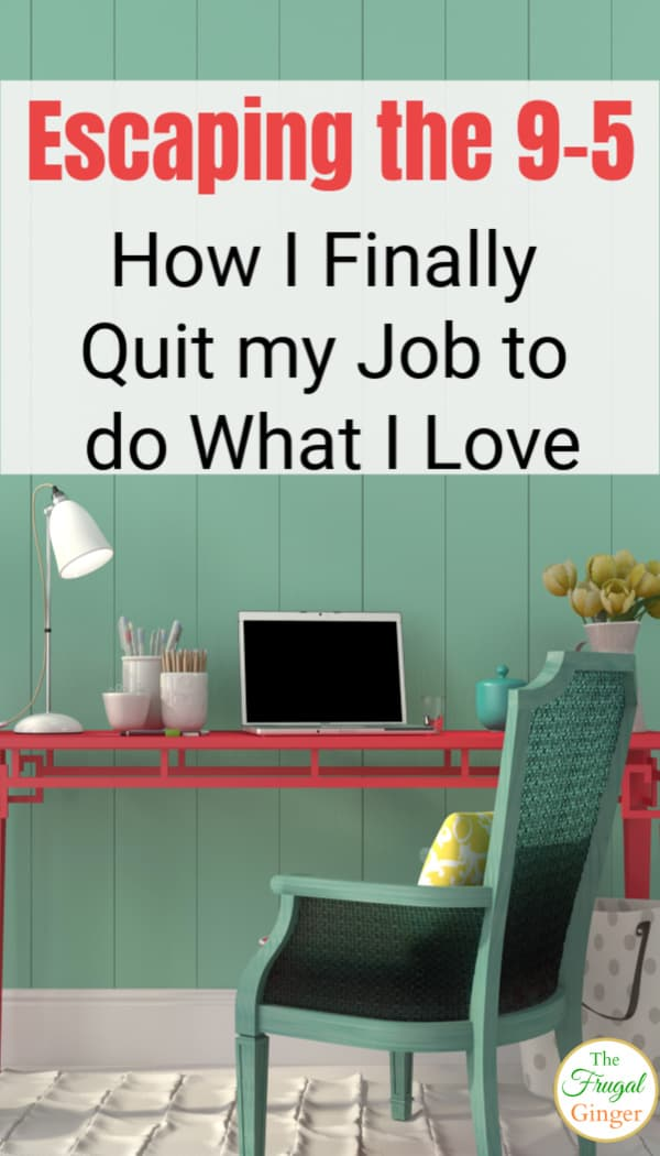 Use these tips to escape the 9 to 5 and make money from home. This is how I quit my job so that I could be a stay at home mom and still be able to work to pay our bills.