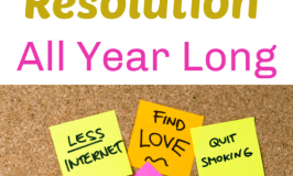 Tricks to Help Keep your New Year's Resolution All year Long