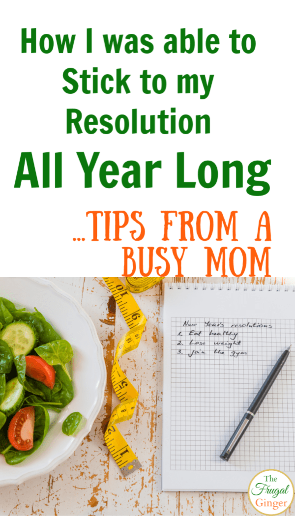 Use these tips for goal setting and to help keep your New Year's resolution once and for all. Ideas to stick to your fitness, money saving, healthy, or organization goals for the new year.