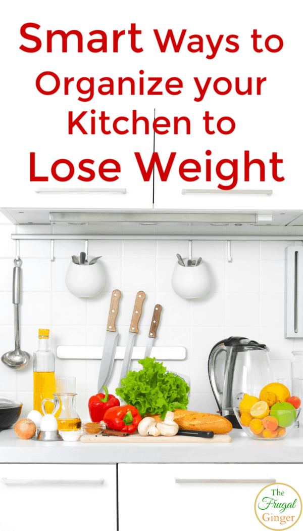 Smart ways to organize your kitchen to lose weight. Simple hacks to make your fridge and counters work for you. The best way to get healthy with these easy ideas.