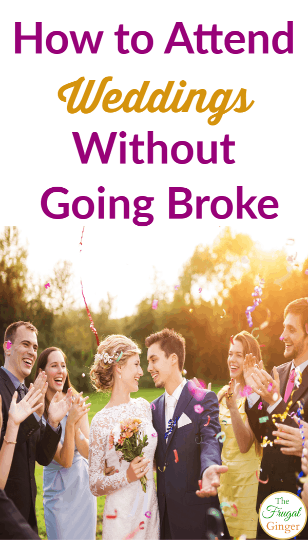 Going to weddings can get expensive! Learn how to save money as a wedding guest so you can survive wedding season. Ideas to get the best presents and outfits on a budget.