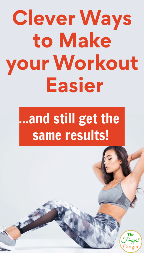 Use these workout tips and tricks to make your workout seem easier while still getting the same results. Perfect for beginners. Use them during your next gym or at home exercise routine.