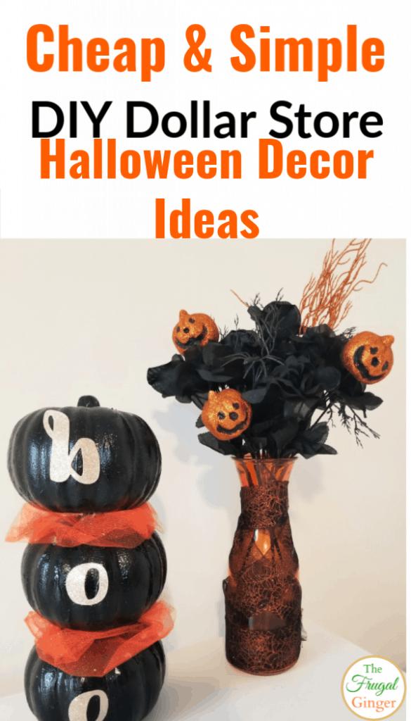 3 DIY Dollar Tree Halloween Decoration Ideas 2019