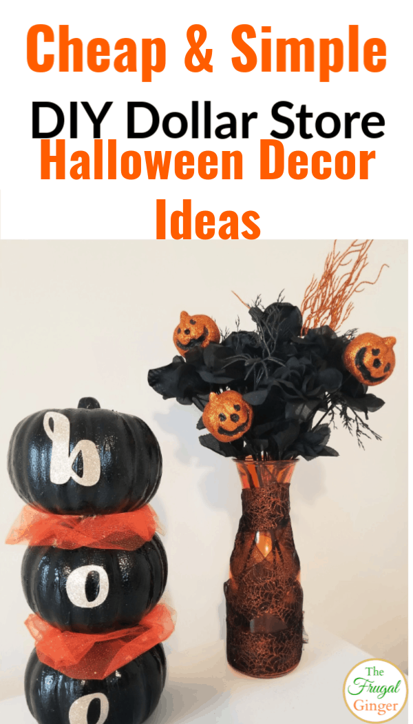 12 DIY Dollar Tree Halloween Decoration Ideas 12