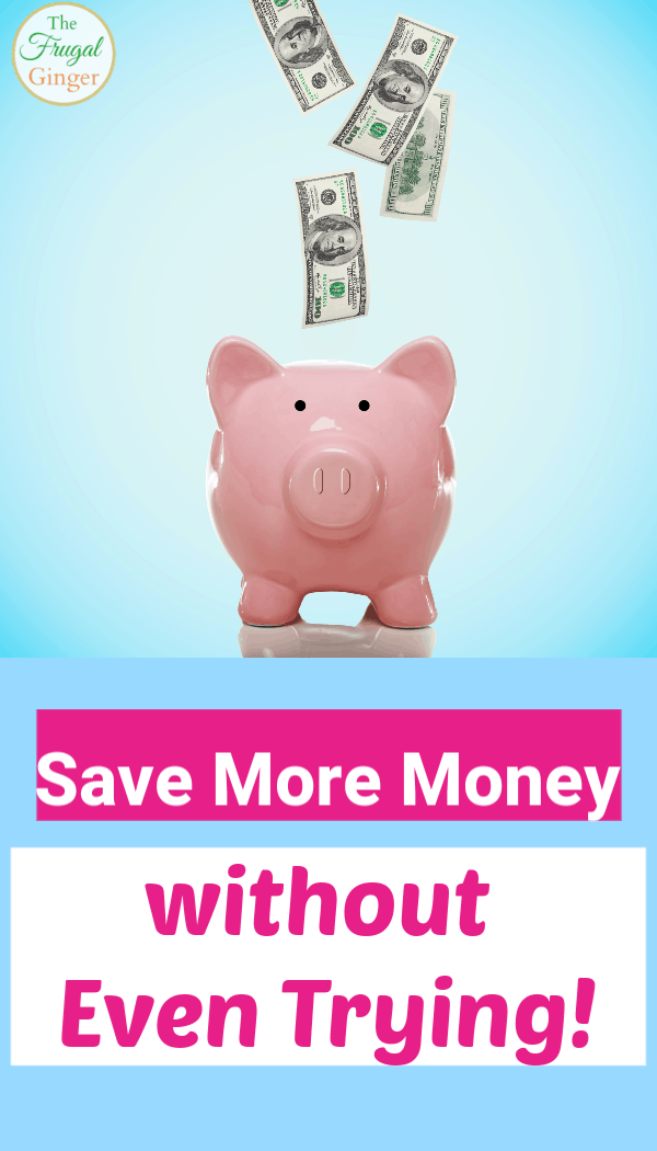 Use these simple tips and tricks to save more money without trying or sacrificing your lifestyle. Frugal living hacks to help your budget every month without noticing.