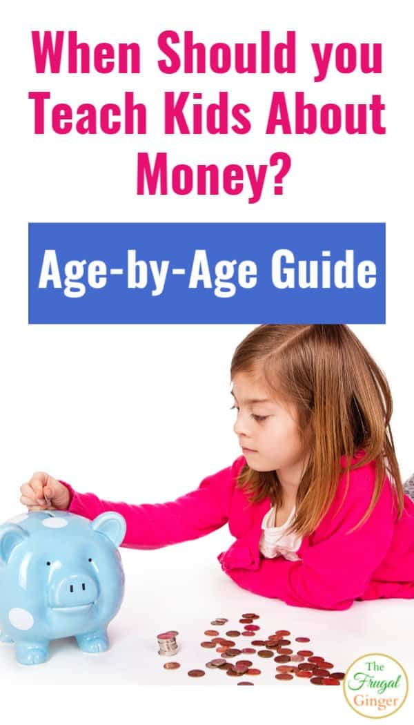 When should you teach kids about money? Right Now! Use they age by age guide to teach children about personal finance, money management, and life skills!