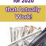 These are the best frugal living tips for 2020 that actually work. Learn how to save money with these simple ideas and life hacks that are perfect for beginners.