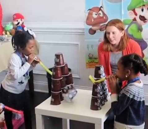 Throw a Super Mario birthday party on a budget for kids with these simple ideas for food, diy games, decorations, goody bags, and more.