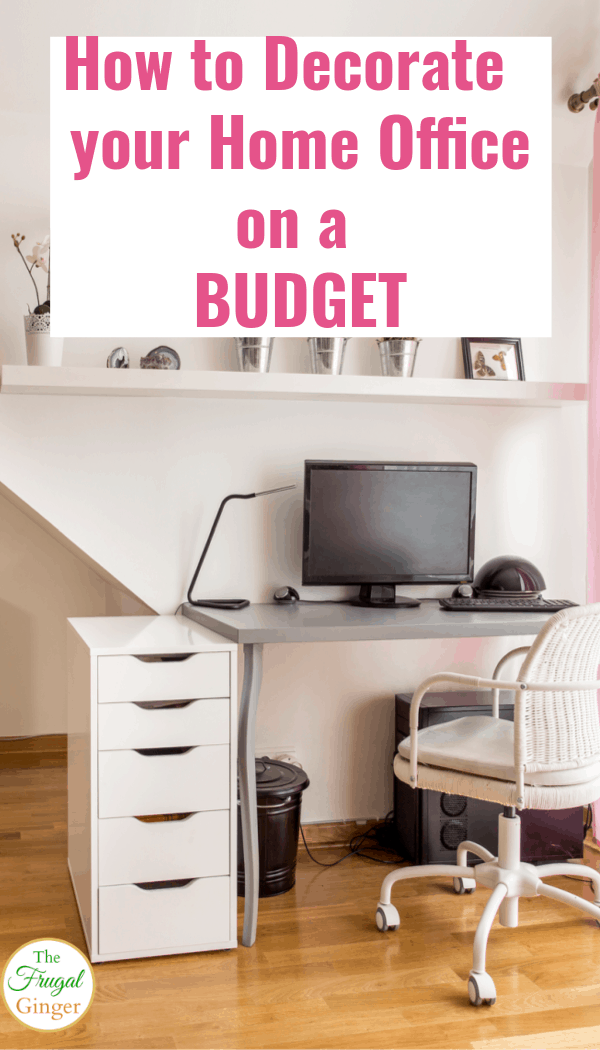 Home Office Ideas On A Budget from frugalginger.com